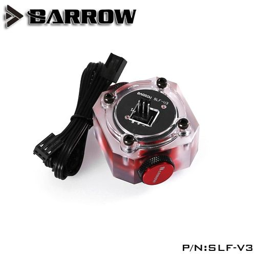 Barrow SLF-V3 Water cooling system electronic data type <font><b>Flow</b></font> Sensor Indicator , able to Access the motherboard to read data