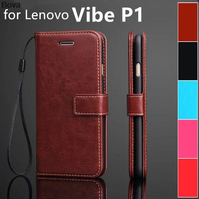 Капа fundas lenovo P1 p1c72 держатель для карт чехол для lenovo Vibe P1 кожаный чехол-кошелек для телефона флип-чехол Защитный чехол