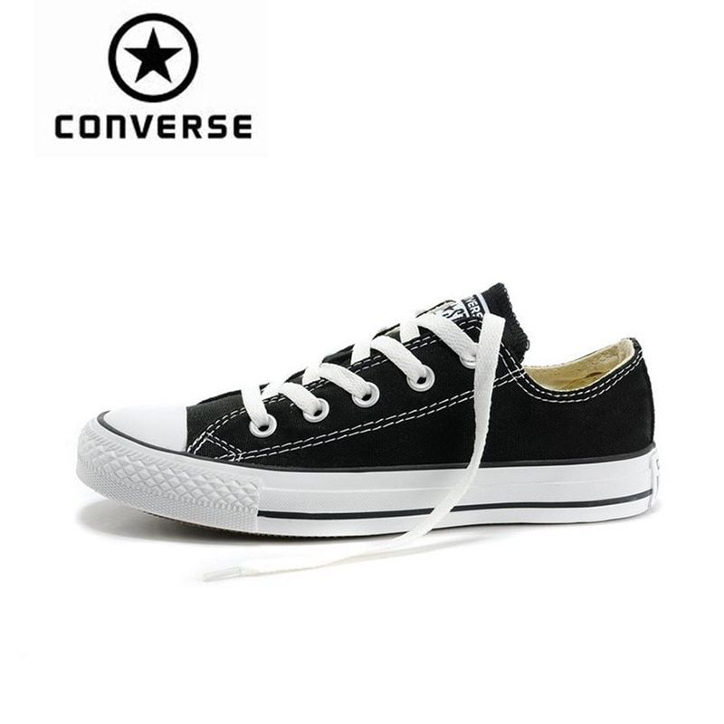 Converse Men and Women Low Top Skateboarding Shoes New Arrival Authentic Classic Canvas Unisex Anti-Slippery Sneakser