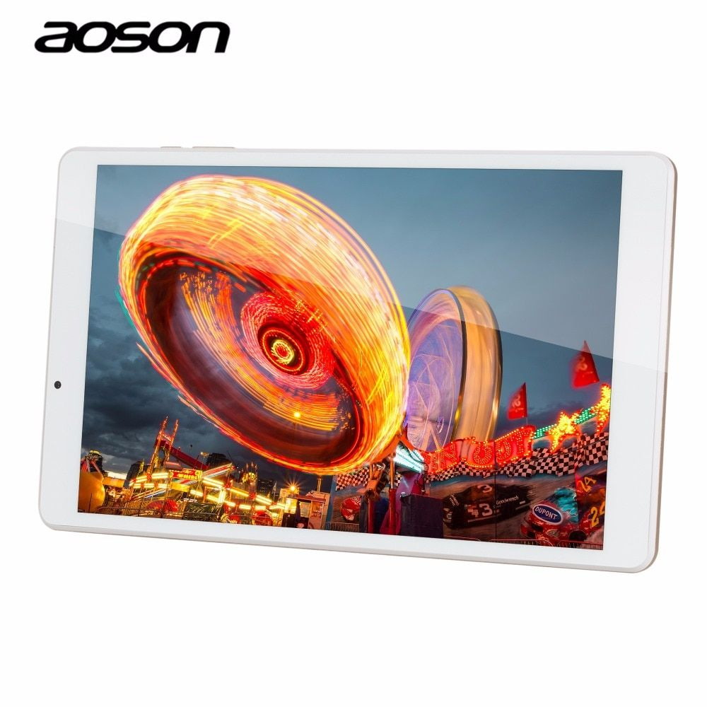 High Speed GPS smart 10.1 inch Quad Core 32GB Tablet Aoson R103 <font><b>Android</b></font> 6.0 Tablet 2GB RAM MTK8163 1280*800 Wifi PAD Metal Case