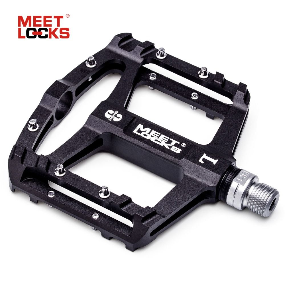 MEETLOCKS Utral Sealed Bike Pedals, CNC Aluminum Body, For MTB Road Cycling , 3 Bearing Bicycle Pedal