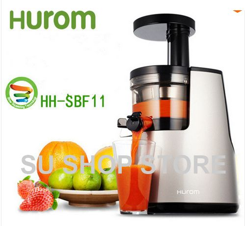 2nd Generation 100% Original HUROM Elite HH-SBF11 Slow Juicer Fruit Vegetable Citrus Low Speed Juice Extractor Made in Korea