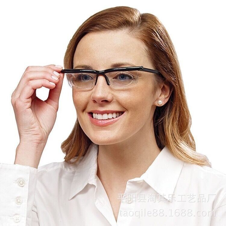 [TOOL] TV products can be adjusted from the mirror Dial Vision  mirror myopia presbyopic glasses For Old Men/Women  #0053