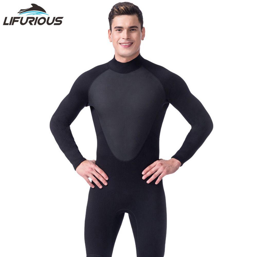 High Quality new 3mm cool black diving triathlon neoprene wetsuit for swimming surf men Scuba Equipment Split Suits Spearfishing