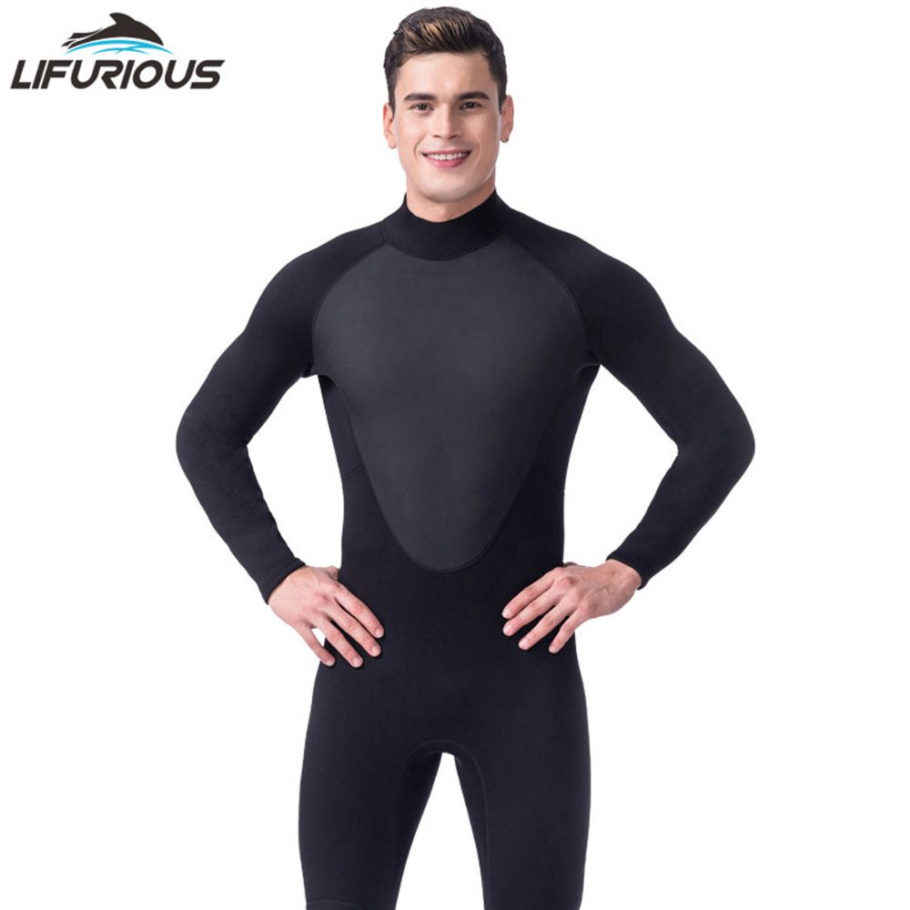 High Quality new 3mm cool black diving triathlon neoprene wetsuit for swimming surf men Scuba Equipment Split Suits Spearfishing