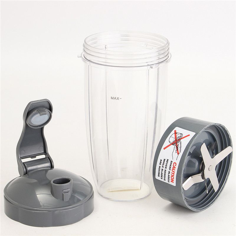 Durable Quality Plastic Acrylic 600W 900W Extractor Blade 32OZ Tall Cup Flip Lid For NutriBullet Nutri Bullet