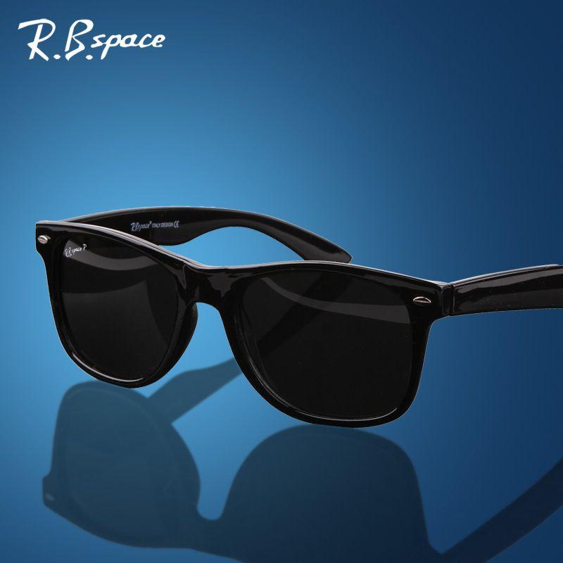 RBspace unisexe mode vintage lunettes de soleil polarisées homme classique marque Rivets métal Design hommes femmes rétro lunettes oculos de sol
