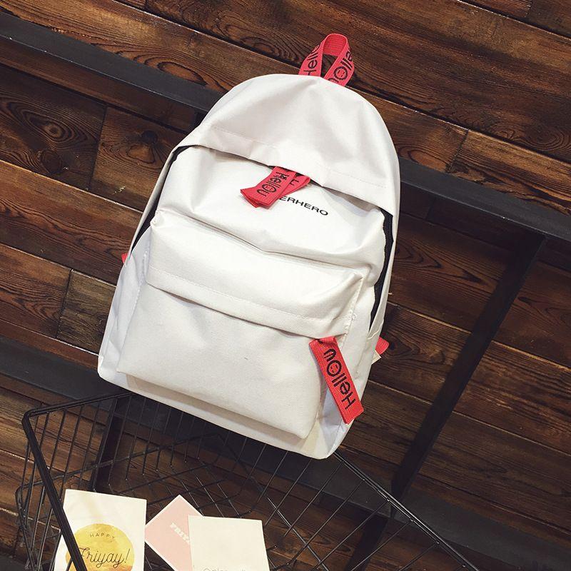 dower me AA40 Simple Canvas Backpack Male Laptop Backpack Female Travel Men Bagpack Casual Stachels Rucksack
