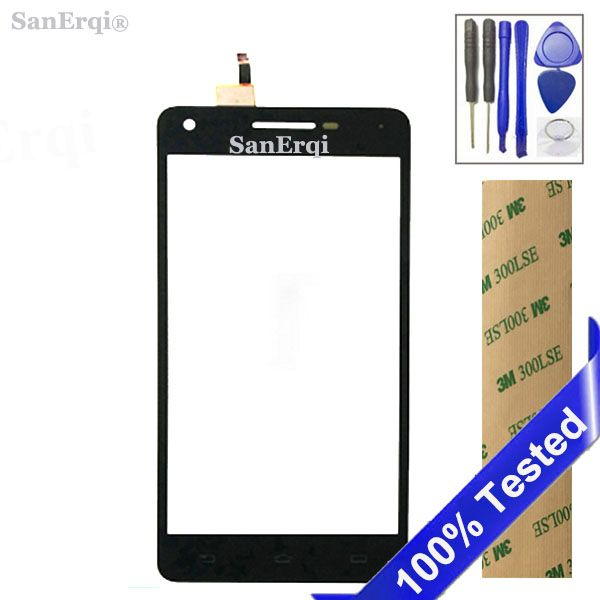 SanErqi 5.0 inch Touch Screen  Sensor For PHILIPS V377 377 Touch Screen Digitizer Front Glass Lens Sensor Touchscreen