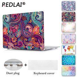 Redlai colores crystal clear caja del ordenador portátil para MacBook Pro 13.3 15.4 retina Air 13.3 pulgadas 2016 nuevo para el MacBook Pro 13 barra táctil