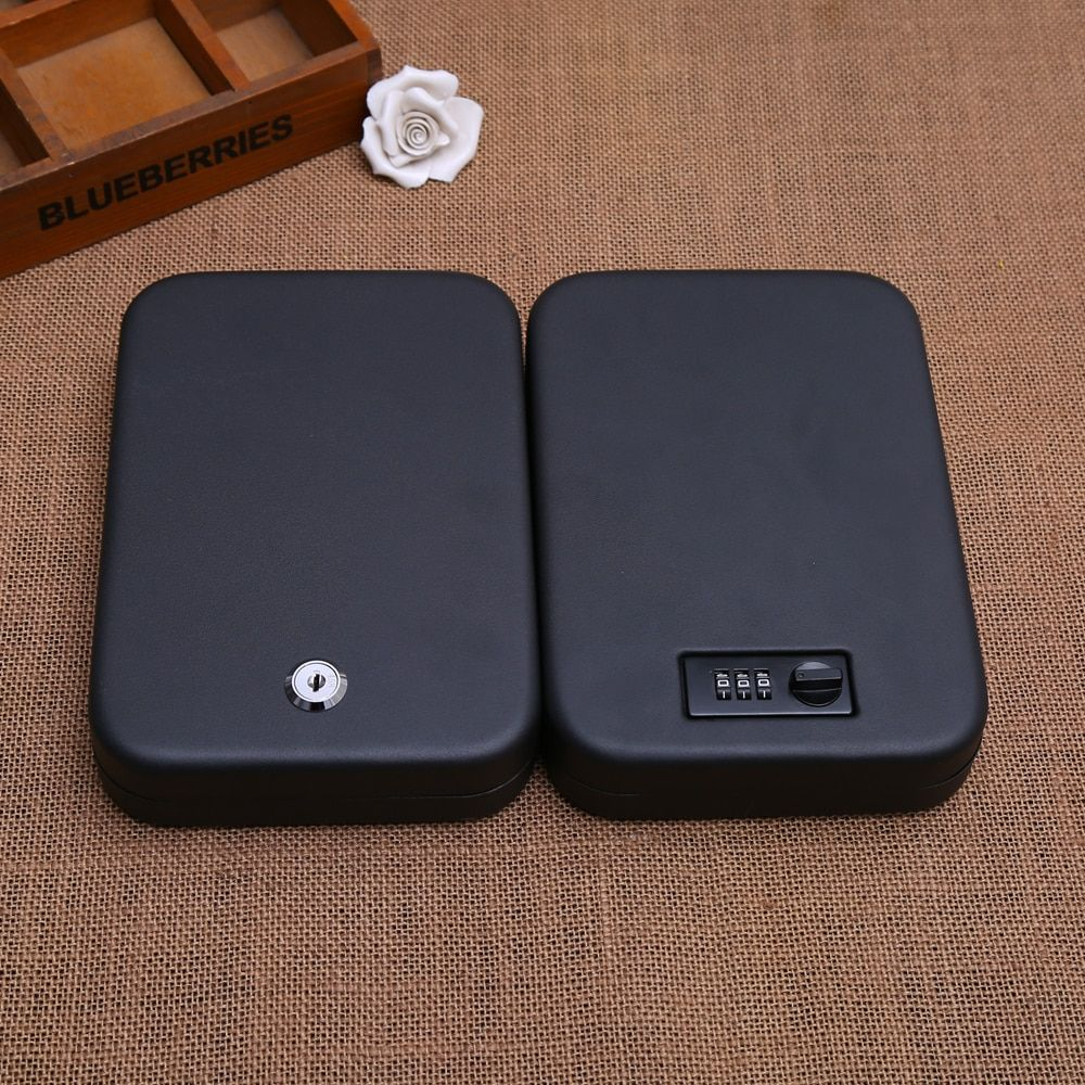 Cash Jewelry Jewelry Box Car Safes Portable Pistol Boxes Safes Burglary Passwords Birthday Gifts New Year Gifts