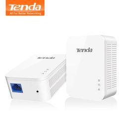 1 par Tenda PH3 1000 Mbps adaptador de red Powerline, AV1000 PLC Ethernet adaptador, Wireless Router WiFi socio, IPTV, Homeplug AV2
