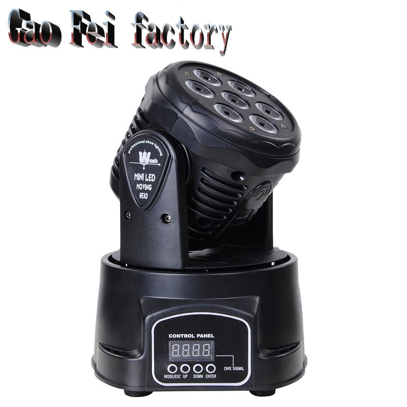 wash 4 In 1 RGBW LED Moving Head Light,DMX 512 14CH Stage Party DJ PAR Lighting, for Indoor Club, Party Show