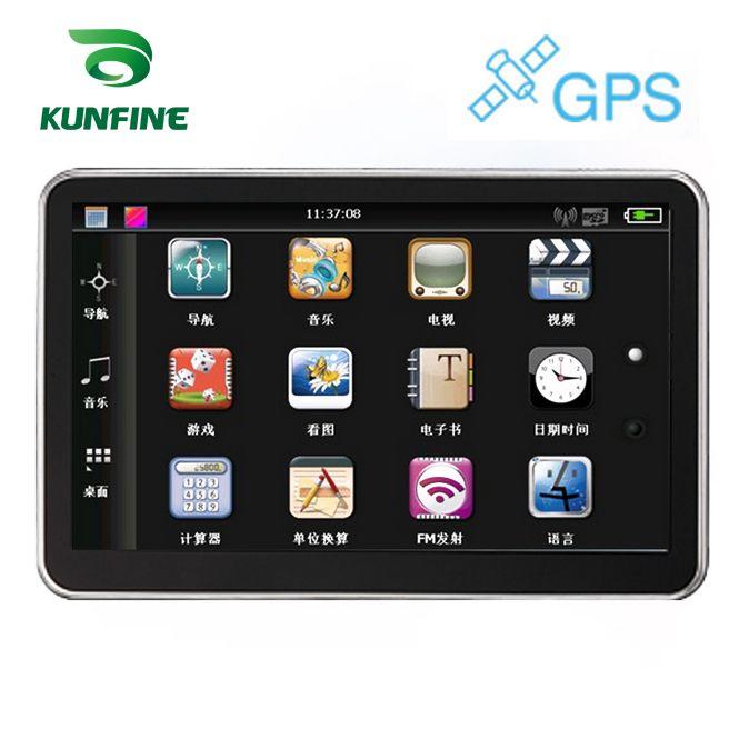 5 Inch Wince 6.0 Car GPS Navigation Radio 8GB 256M Truck Vehicle GPS Navigators Lorry Rear View Camera Screen Free Map Upgrade
