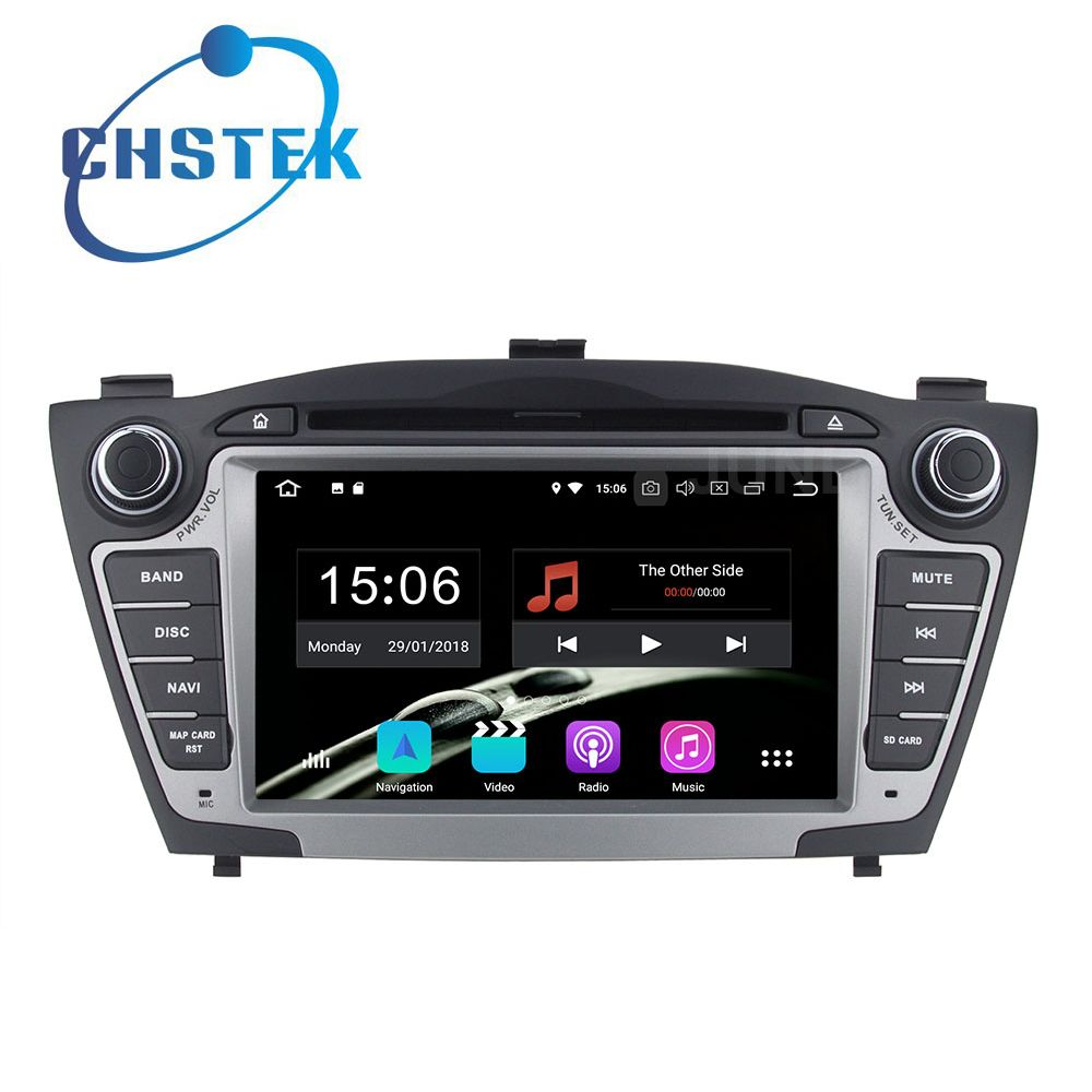 Octa core 4GB RAM Android 8.0 Car DVD Multimedia Player Radio GPS for Hyundai IX35 IX 35 Tucson with WiFi BT
