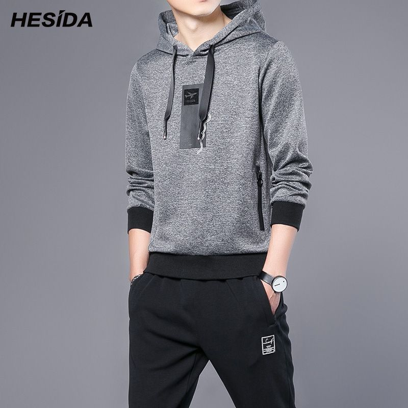 Hoodie Trainingsanzug Männer Gesetzt Frühjahr Herbst Kapuzenpulli Pullover Sportbekleidung Hip Hop Casual Mantel Männer Kleidung Hoodie + Pants 2 stücke