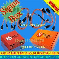 2018 Versión Original nuevo Sigma Box + 9 cables + activación básica