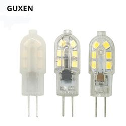 GUXEN 5 W nouveau G4 led DC 12 V 12 led lampe Led ampoule SMD 2835 LED G4 lumière Remplacer 30/40 W halogène lampe lumière