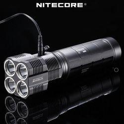 Pabrik Harga Nitecore TM26 4000 Lumnes OLED Display Senter Portabel LED Spotlight dengan Baterai NBP52
