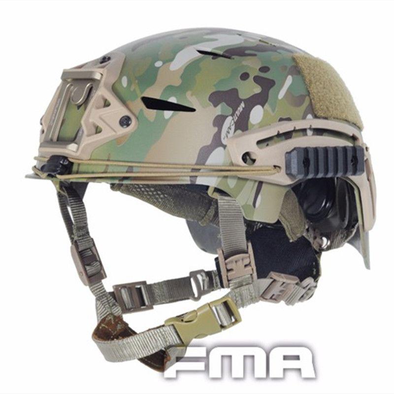 2017 FMA Echt Cascos Paintball Wargame Tactical Helm Abdeckung Tuch Armee Military Airsoft Für Taktische Skirmish Airsoft TB743FG