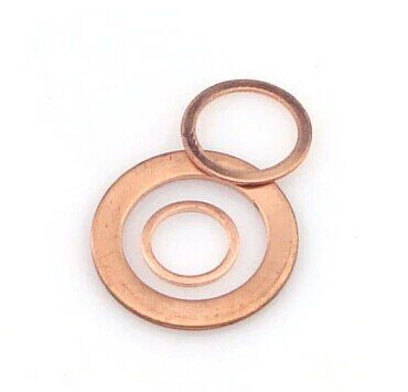 50x60x2mm Copper Gaskets Washer Seals Rings
