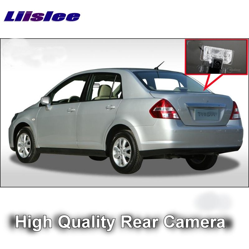 Car Camera For Nissan Tiida Versa Latio Trazo C11 4D Sedan 2004~2015 LiisLee High Quality Rear View Back Up Camera For | RCA