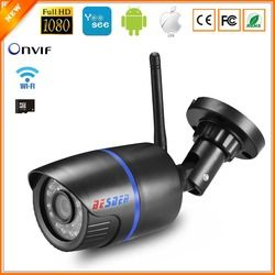 BESDER Yoosee IP Камера Wi-Fi 1080 P 960 720 P ONVIF Беспроводной проводной P2P CCTV пулевидная камера наруэного наблюдения с MiscroSD слот для карт памяти Max 64G