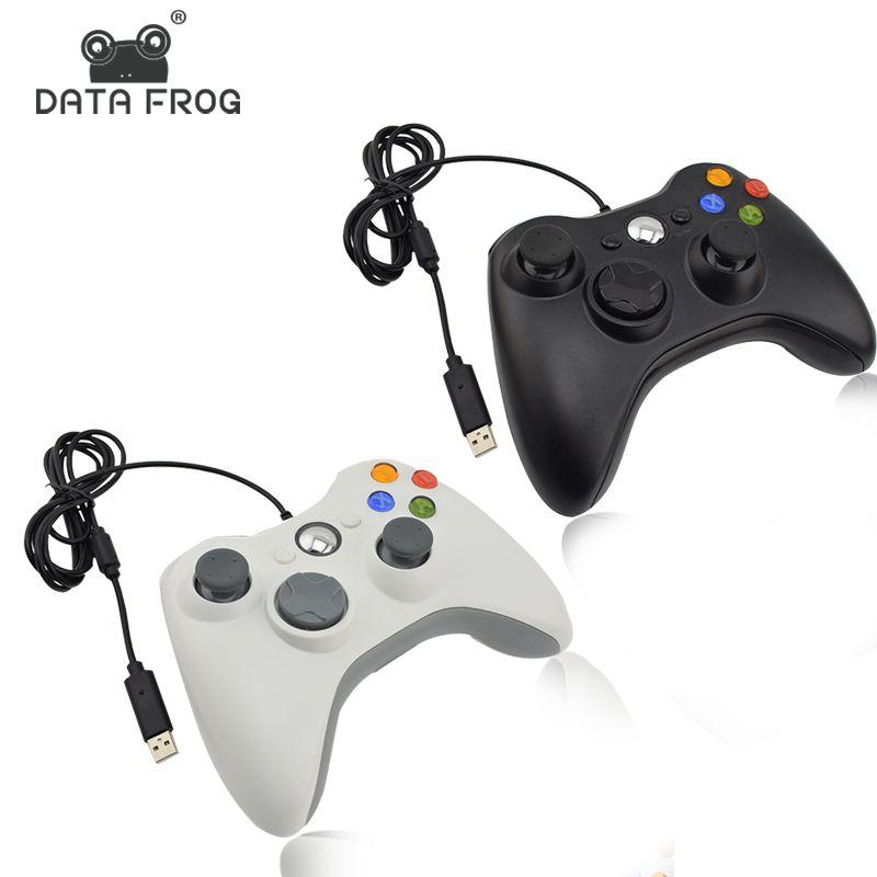 DATA FROG manette de jeu avec câble USB manette de jeu pour PC de haute qualité