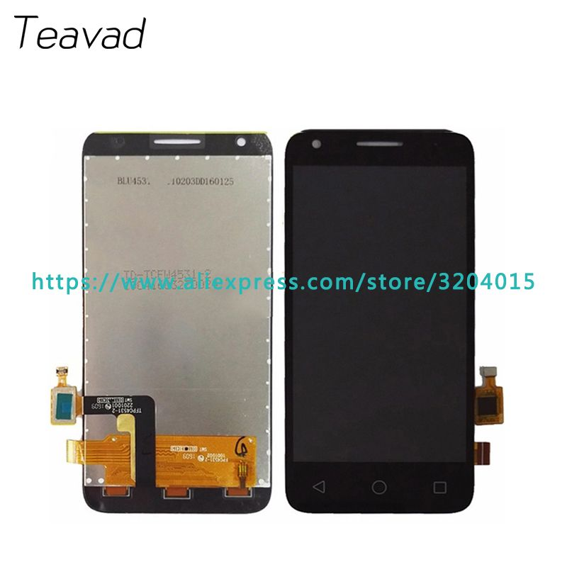 For Alcatel One Touch Pixi 3 4027D 4027X 4027A OT4027 LCD Display Screen With Touch Screen Digitizer Assembly Repair Parts