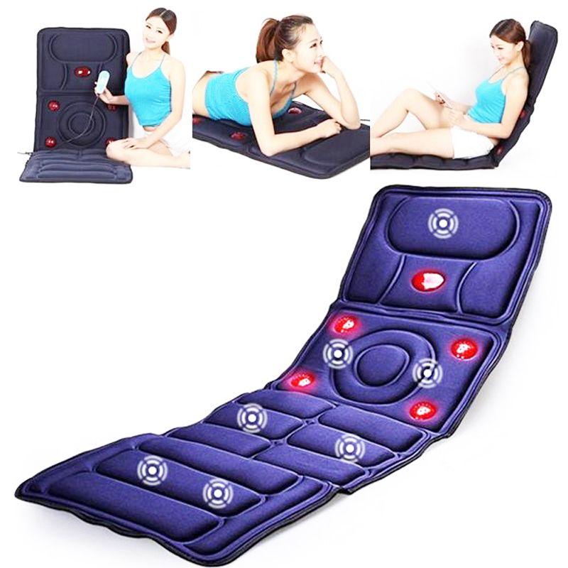 Masseur de corps coussinets de Massage infrarouge lointain Fatigue Vibration coussin de matelas équipement de soins de santé masseur de corps