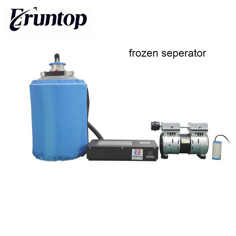 LCD Touch Screen Repair Machine FS-06 Frozen Separator with Oil-free Pump Nitrogen Tank