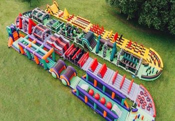 Giant Inflatable Obstacle Playground Inflatable Toys Factory Price