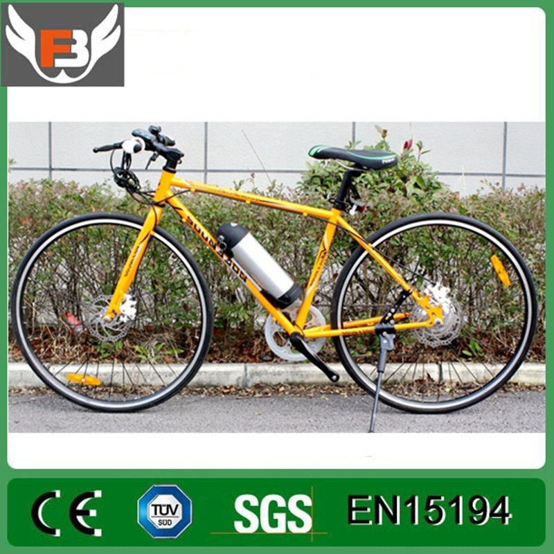 In 2018, the latest electric bicycle 36V10.8AH 350W/500W two disc brake, 26 inch electric mountain bike, Russia's free delivery.