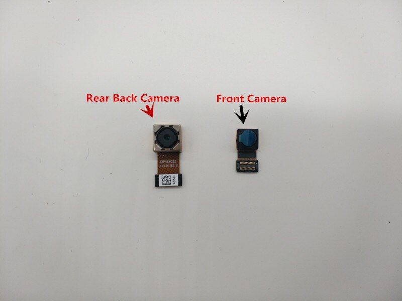 100% Original New Front and Back Rear Big Camera Module With Flex Cable Ribbon For Lenovo S850