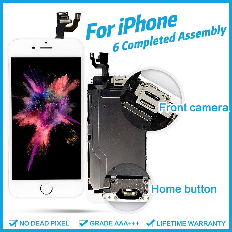 AAA+++ For iPhone 6 6Plus 6S Plus LCD Full Assembly Complete 100% With 3D Force Touch Screen Replacement Display No Dead Pixel