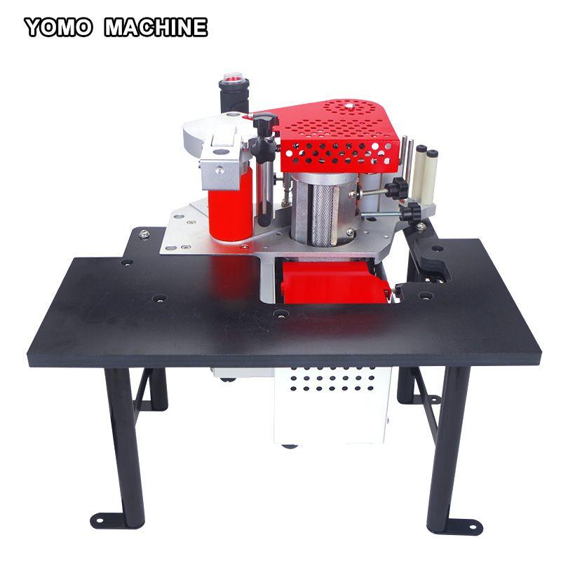 free shipping Double sided edge banding machine woodworking PVC edge bander MY60 110V/220V
