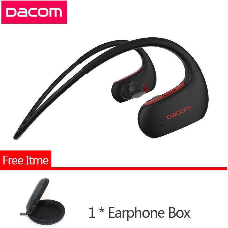 DACOM L05 4.1 in-ear Sport Bluetooth Earphone IPX7 Professional Waterproof Wireless Headphone Stereo Bass Headset with Handsfree