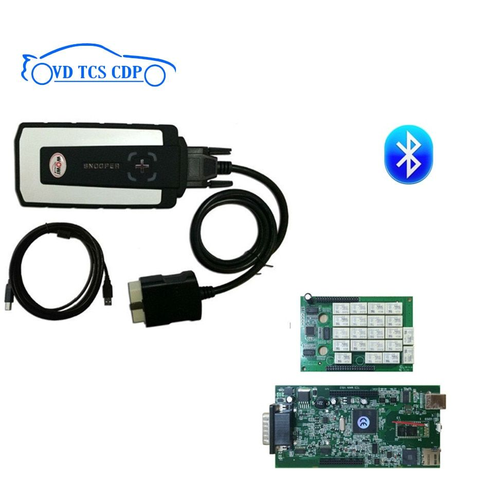 ne-c RELAY 2017 WOW SNOOPER Bluetooth with box new appearance v5.008 R2 version with keygen VD tcs cdp pro