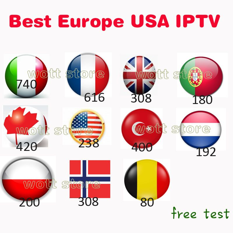 Android tv box French Italian iptv subscription dutch albanian polish portugal Belgium IPTV list hot club xxx free test