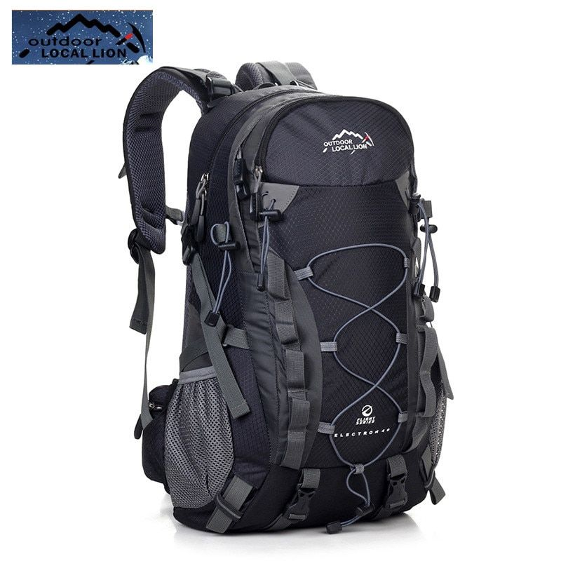LOCALLION 40L Outdoor Professional Cycling Rucksacks Mountaineering Bag Sport Travel Bag Camping Hiking Backpack Free Shipping