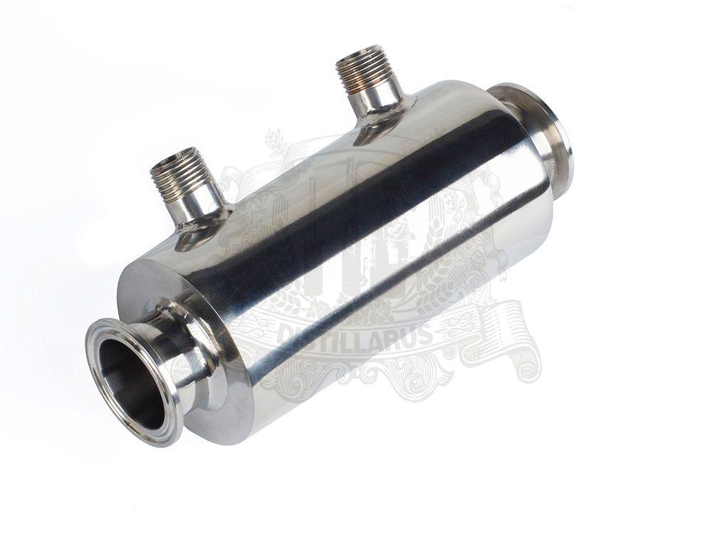 1,5 Dephlegmator/Kondensator/Reflux SS304, tri-clamp verbindung OD50, 5