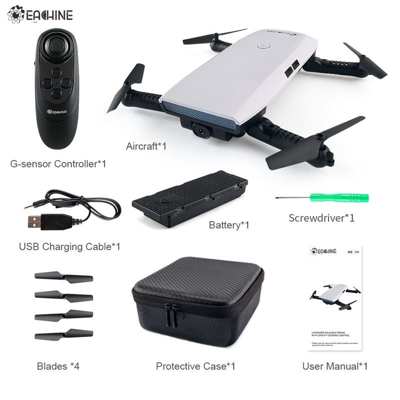 In Stock! Eachine E56 720P WIFI FPV Selfie Drone With Gravity Sensor Altitude Hold New Arrival RC Quadcopter Toy RTF VS JJRC H47