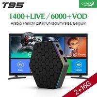 IP ТВ Франции арабский 4 К T95Z плюс Android 7,1 Smart ТВ коробка S912 Octa Core 1 год QHD ТВ товара IP ТВ французский Испания Тюнер для просмотра телеканалов Ниде...