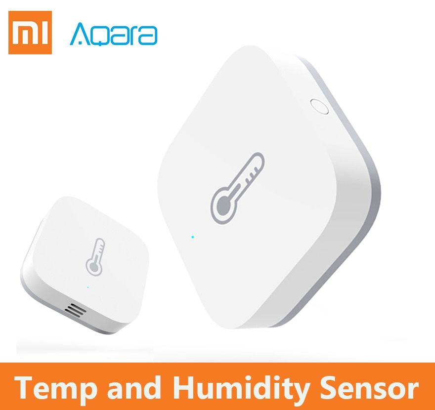 2018 Xiaomi Aqara intelligent pression d'air température humidité environnement capteur contrôle intelligent via Mihome APP connexion Zigbee