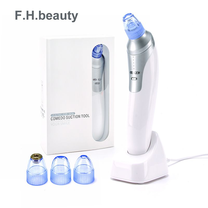F.H.BEAUTY face massage Blackhead Vacuum Cleaner Suction Removal Machine Electric Face Cleaning Skin Care Machine