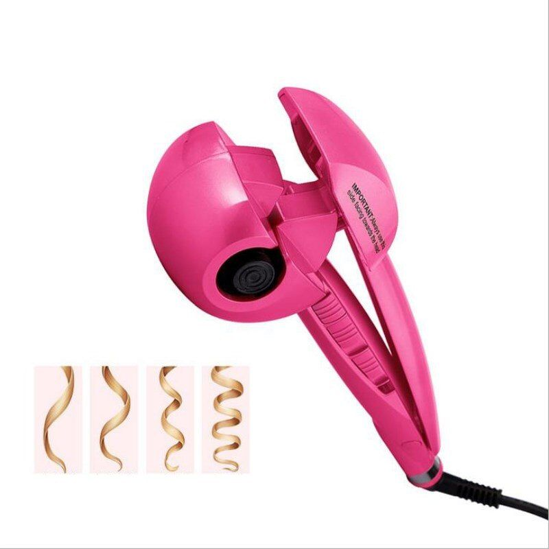 New Hair Curler Steam Spray Automatic Hair Curlers Digital Hair <font><b>Curling</b></font> Iron Professional Curlers Hair Styling Tools 110-240V