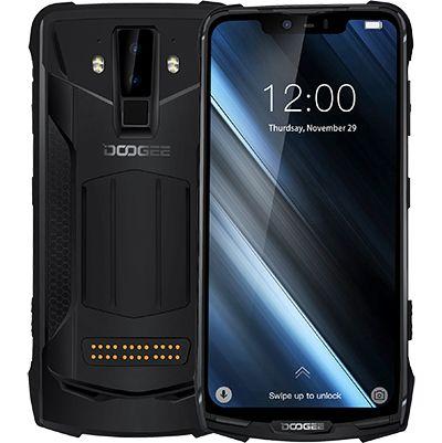 2019 neue DOOGEE S90 6 GB 128 GB handy IP69K Wasserdichte PTT SOS 5050 mAh 6,18 QUAD-CORE-7.0 ''FHD MT6671 Octa -core 16MP NFC 4G Smartphone