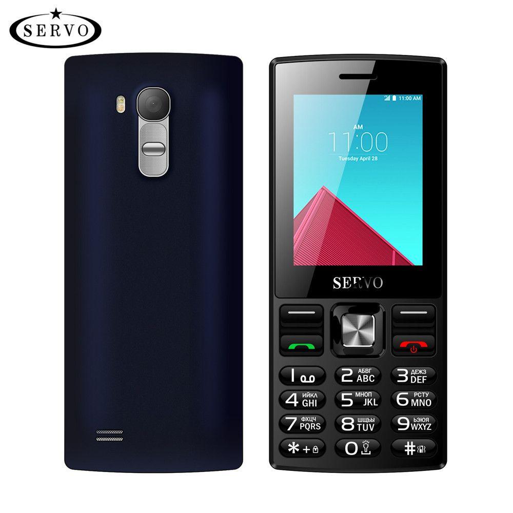 Téléphone original Quad bande 2.4 pouces écran double cartes SIM téléphone portable GSM Bluetooth lampe de poche MP3 MP4 FM GPRS avec clavier russe