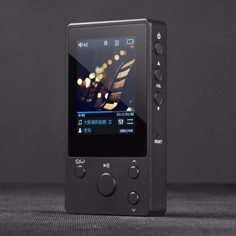 xDuoo Nano D3 High Fidelity Lossless Music Player 2017 New DSD256 24Bit/192K Player with HD Five-section EQ IPS Screen & 20-hour