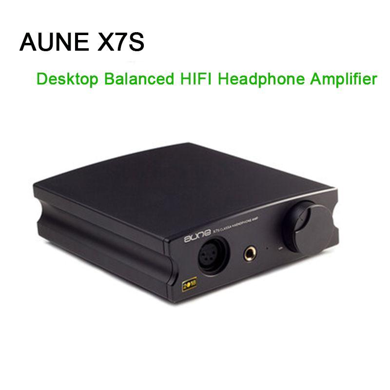 AUNE X7S Desktop Ausgewogene Kopfhörer Verstärker Großen Schub HD650 HIFI Kopfhörer Amp Audio
